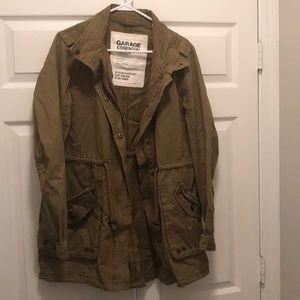 Garage Olive Parka Jacket